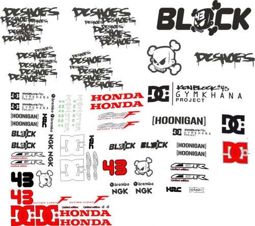 Hannspree Logo: Honda CBR 600 Logos Decals, Stickers And Graphics