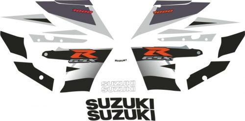 Adesivi Stickers 1000 cilindrata GSX-R Suzuki Honda Yamaha Kawasaki Motorbike