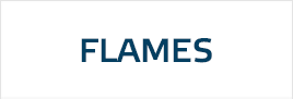 Flames rim stickers